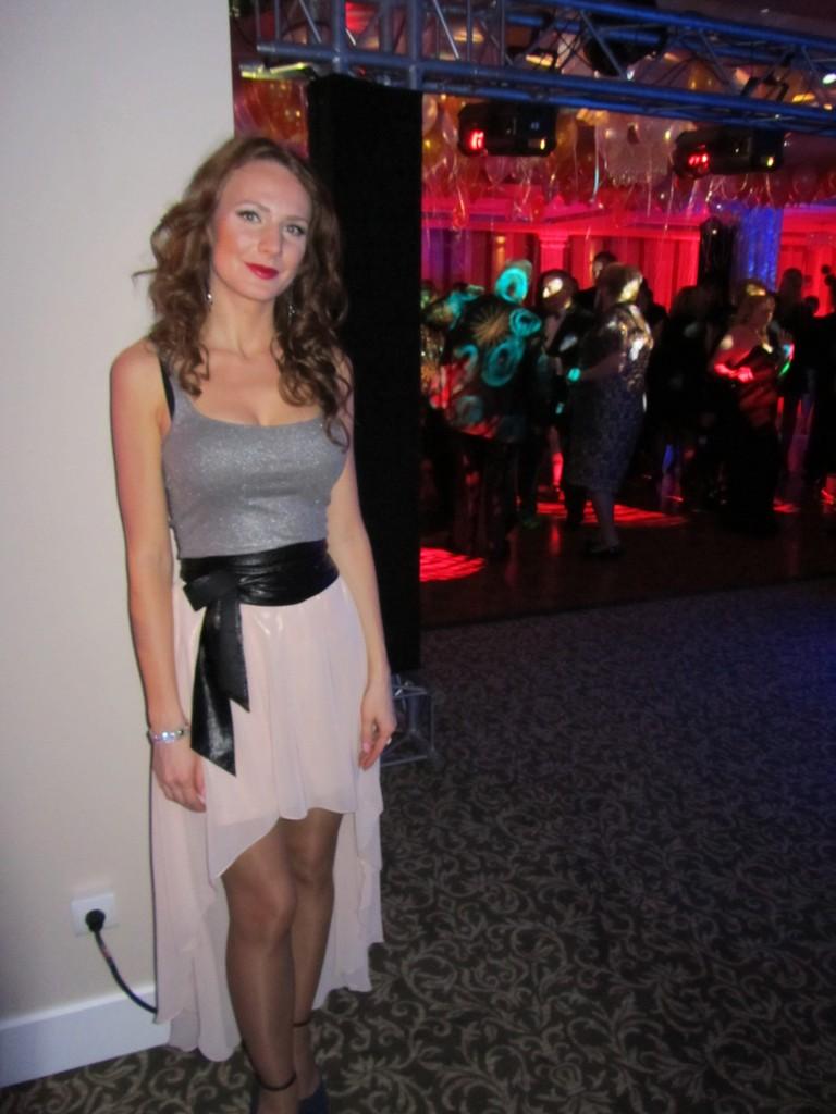 Sukienka (stylizacja) na Sylwester hotel JM APART hotel