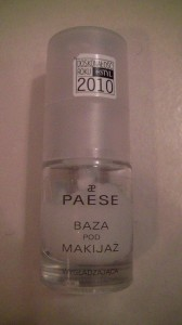 Baza pod makijaż Paese wygładzająca do skóry suchej i normalnej - recenzja