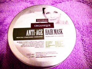 Organique, Anti - Age, Hair Mask Maska do włosów farbowanych i zniszczonych (2)