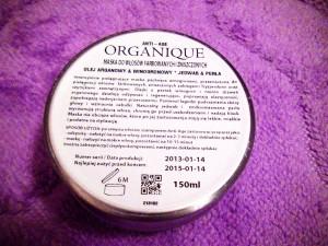 Organique, Anti - Age, Hair Mask Maska do włosów farbowanych i zniszczonych (3)